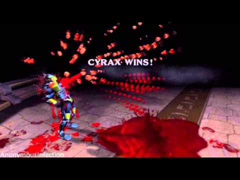 Mortal Kombat: Deadly Alliance - Cyrax's Fatality