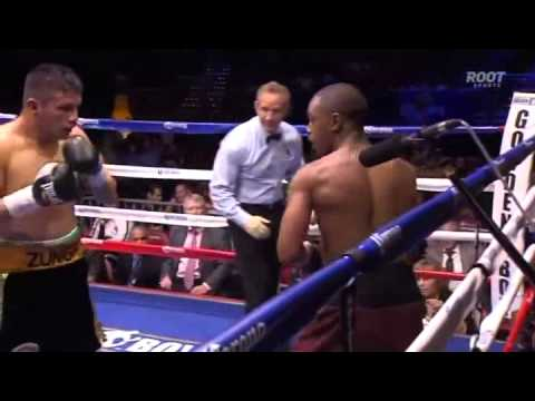 Daquan Arnett knocks out Miguel Zuniga