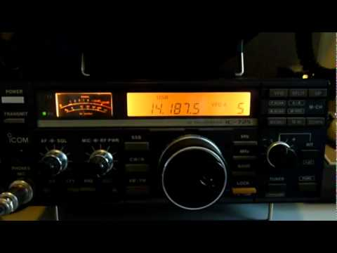 Ham Radio Icom IC-725 V Yaesu FT-857D One Round Receiving Knock Out Contest
