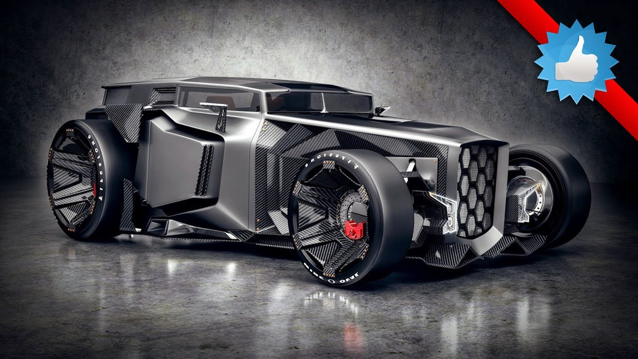 Futuristic Rat Rod Design Concept Youtube