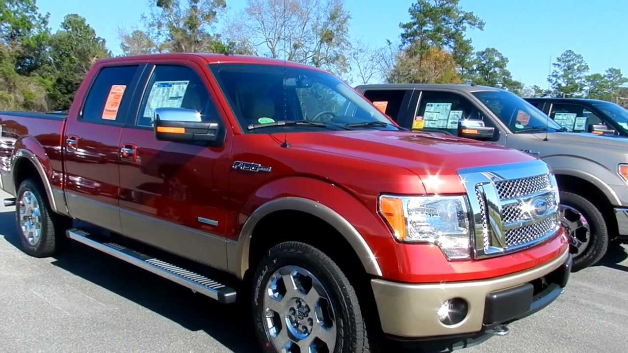 2012 Ford F150 Lariat Supercrew 4x4 Ecoboost Engine For