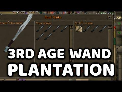 3rd Age Wand Plantation - Runescape Moments