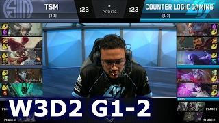 CLG vs TSM Game 2 | S7 NA LCS Spring 2017 Week 3 Day 2 | TSM vs CLG G2 W3D2