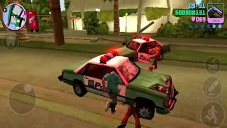 Vice City Super Mod Funny Moment With Six Star Tricks