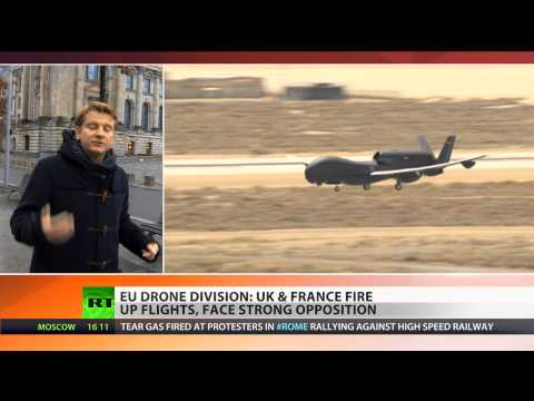 Fly-by-Spy: EU develops 'humanitarian' drone program