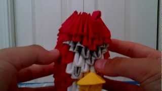 3d Origami Angry Bird And Origami Bow And Arrow