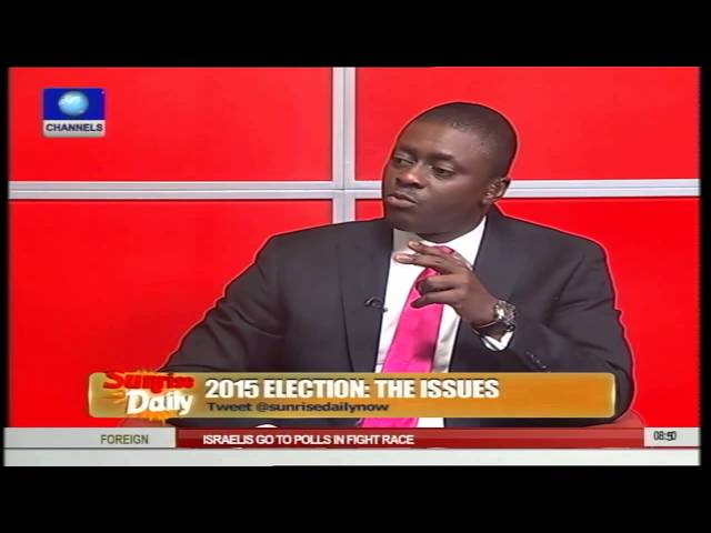 Election Observer Stresses Need For Voter Education Ahead Of Polls Pt.2
