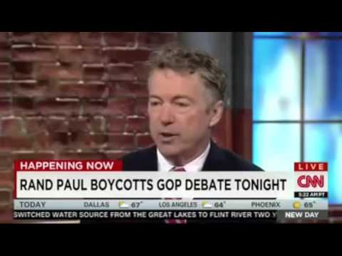 Rand Paul on RNC Trying to Silence His Campaign | CNN