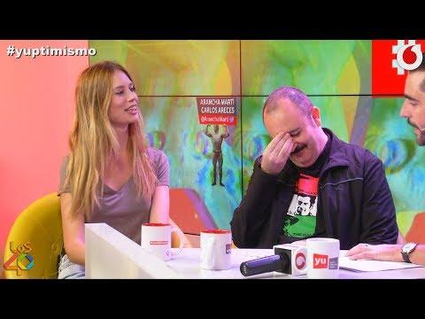 Carlos Areces y Arancha Martí nos cuentan cómo es Gerard Depardieu de cerca #yuptimismo