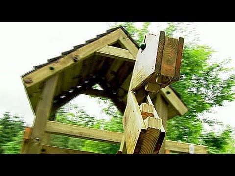 Kletterturm Im Garten: Standfestes Kraxelparadies Zum Nachbauen