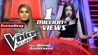 Thamodya Athuraliya - Dudanoda Binda Blind Auditions | The Voice Sri Lanka