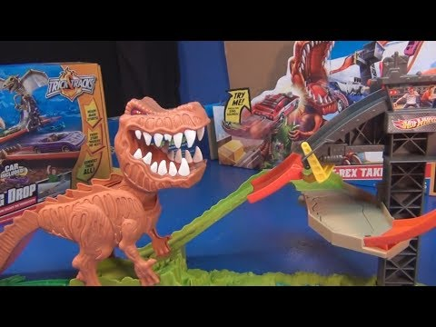 Hot Wheels T-Rex Take Down Product Review