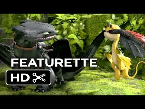 How To Train Your Dragon 2 Featurette - Meet The New Dragons (2014) - Animated Sequel HD
