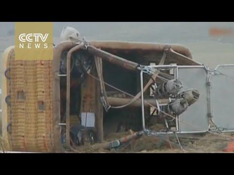 Turkey hot air balloon crash kills Chinese tourist