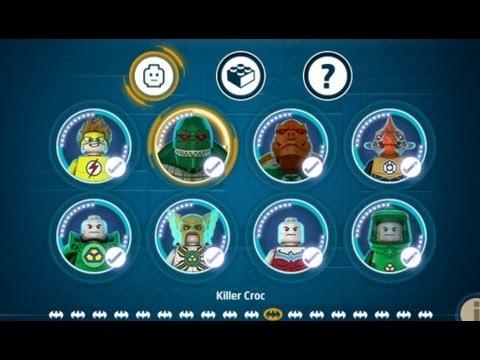 Lego Batman 3 Character Grid Lego Batman 3 Vita 3ds 100