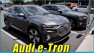 2019 Audi E-Tron SUV Test Drive with R8 Owner