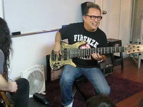 giant steps - Lalo Carrillo y Christian Galvez - en Escuela Superior de Jazz