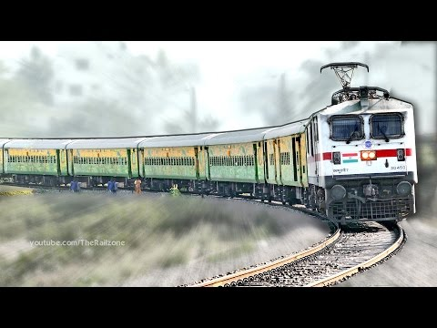 First Time WAP7 with DURONTO Express | HWH -YPR | Indian Railways thumbnail