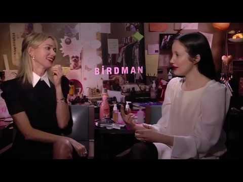 Naomi Watts and Andrea Riseborough say filming 'Birdman' was incredibly challenging