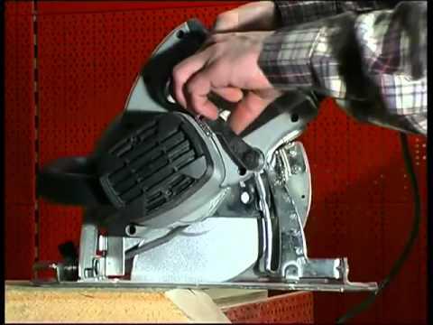 Ремонт ручной циркулярной пилы видео