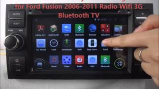 Ford Fusion 2006-2011 Android Car DVD Player GPS Radio Wifi 3G