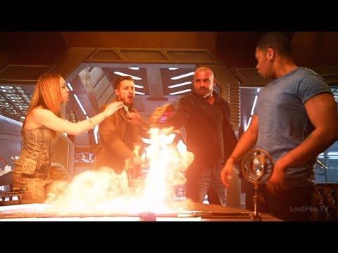 Легенды выясняют как уничтожить копьё   Легенды Завтрашнего Дня (2 сезон 15 серия)