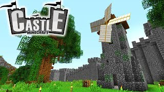 Windmühle & Mauer! - Minecraft CASTLE #32 - Ancient Warfare 2 Mod