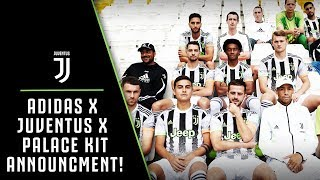 ADIDAS X JUVENTUS X PALACE 4TH KIT AVAILABLE NOW!