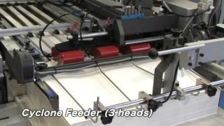 SHOEI Folder / Medicine bag production with Cyclone feeder
