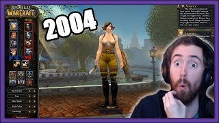 Asmongold Reaction to Classic WoW BETA in 2004 Video