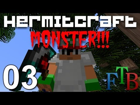 Hermitcraft FTB Monster Ep. 3 - New Tinkers Tools!