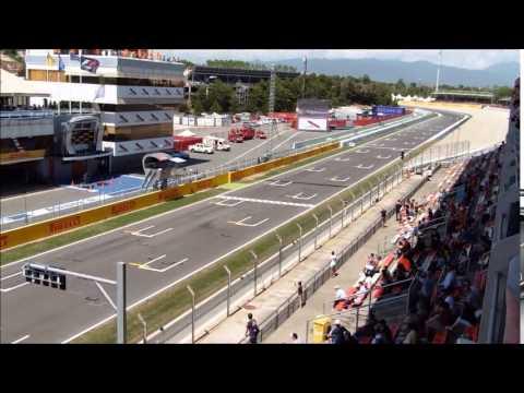 f1 barcelone 2015 essai 2 vendredi tribune D