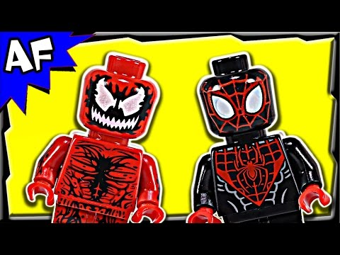 Lego Spiderman CARNAGE Shield Sky Attack 76036 Stop Motion Build Review