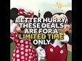 Ticket deals at Disney