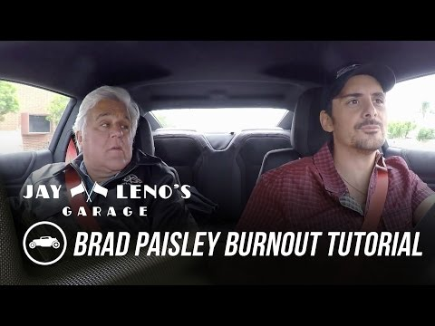Jay Leno Gives Brad Paisley a Burnout Tutorial in the 2017 Chevrolet Camaro ZL-1 - Jay Leno's Garage