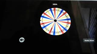 NBA 2K18 spin the wheel of NBA player numbers!!!!!!!!