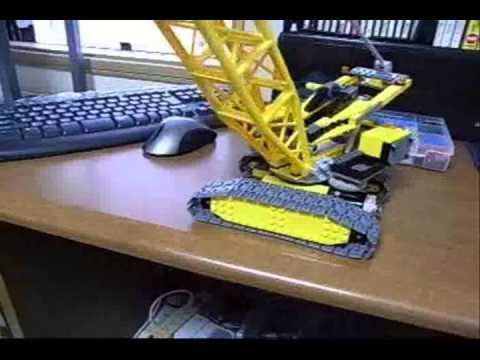 Lego City Crane Lego City 7632 Crawler Crane 1