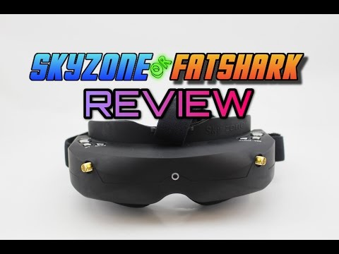 Finding the BEST FPV GOGGLE. Not only Fatshark? Skyzone02 FPV goggle Review