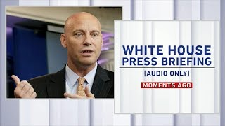 White House press briefing 7/19/17 with break down from 'The Briefing Room'