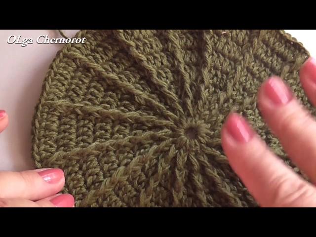 Как рассчитать донышко для вязаной шапки. Вязание крючком