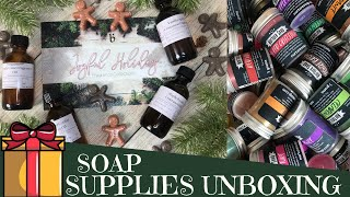 Unboxing Bramble Berry's Joyful Holiday Collection & Nuture's All The Micas set | GYPSYFAE CREATIONS