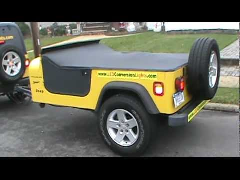 Jeep Wrangler Trailer Done Youtube