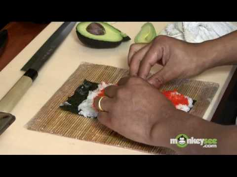 Sushi - How to Make a Tiger Roll