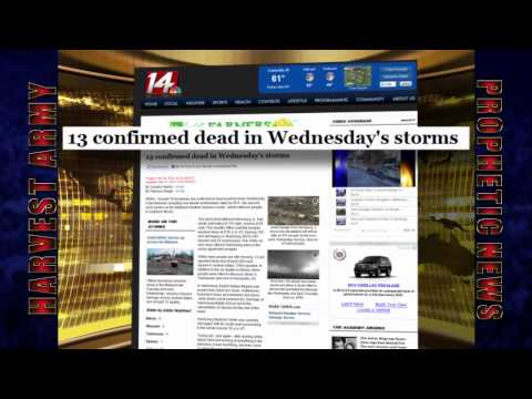 TORNADOS Ravage MIDWEST / EAST CENTRAL US 51 Dead Town MARYSVILLE Gone 3.2.12: Prediction