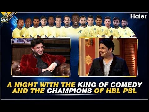 Zalmi Night with Kapil Sharma | Coming Soon |Watch this vedio Message From J Afridi