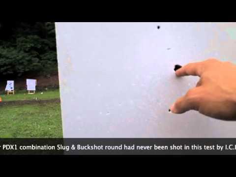 12 gauge buckshot wall penetration