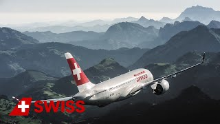 Our new Bombardier CS100 | SWISS