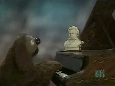 Muppet Show. Rowlf the Dog - Eight Little Notes (s3e12) Video