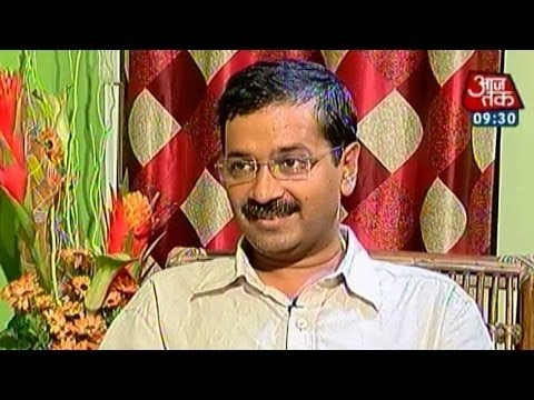 Exclusive interview with Arvind Kejriwal