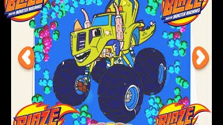 Blaze and the Monster Machines Zeg Color Episode
